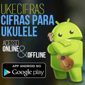 Aplicativo Uke Cifras para Android